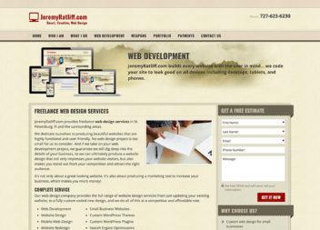 JeremyRatliff.com Web Design