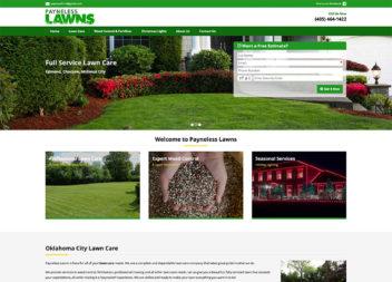 Lawn Care Web Design